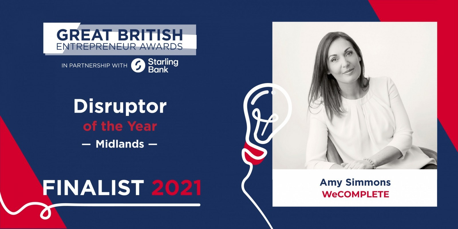 Amy Simmons The Great British Entrepreneur Awards 2021